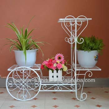 Emejing etagre jardin fer forge ideas design trends 2017 for Decoration jardin metal