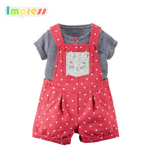 organic cotton shorts outfit newborn baby clothes set