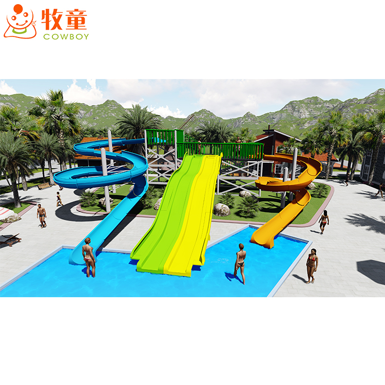 Low Price Factory Outdoor Large Water Park Equipment Used Swimming Pool  Slide For Sale - Buy Water Slides,Large Park Slide,Outdoor Equipment  Product ...