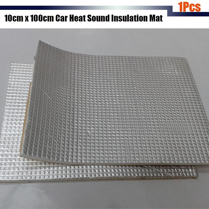 1pcs Aluminum Foil Car Body Sound Deadener Heat Insulation