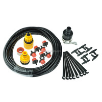 8 Drippers 8m automatic irrigation kits garden self watering system