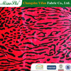 polyester knitting cow pattern short pile hair fabric for toy,sofa,shoes & garment