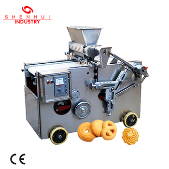 SH400  multifunction small walnut cookie depositor making machine