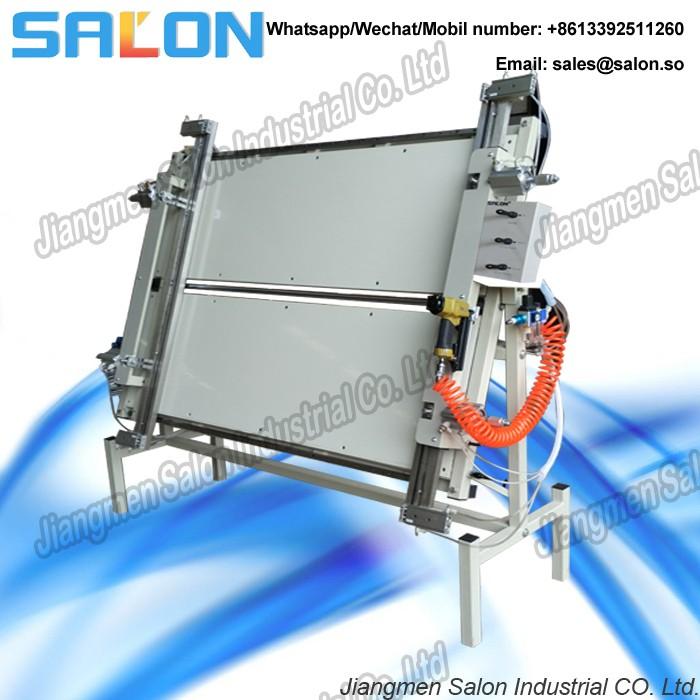 Canvas stretching machine, View canvas stretching machine, Salon ...