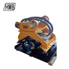 Hydraulic vibrating plate compactor for all kinds excavator