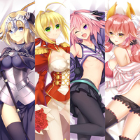 cheap wholesale custom dakimakura anime pillow case unconcerned r18 hentai