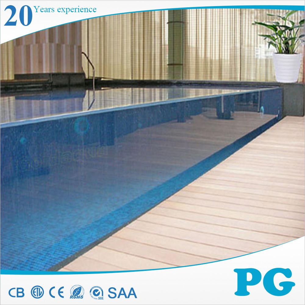 Pg alto padr o acr lico transparente piscina piscina de for Piscina de acrilico