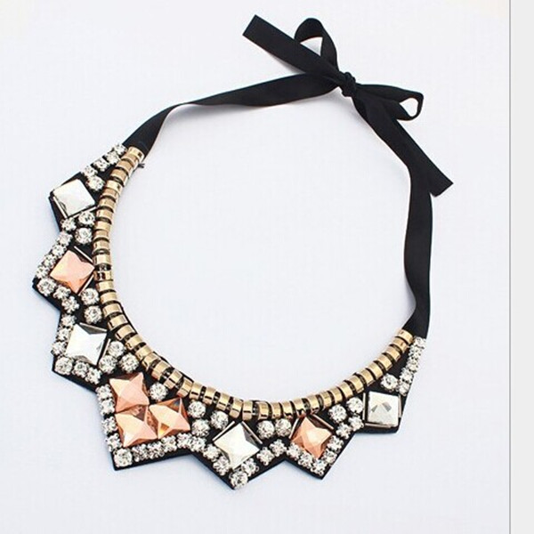2014 new design unique vintage various material available customized style for women necklace