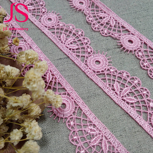 Manufacturers wide varieties vintage cotton scalloped stretch lace trim wholesale
