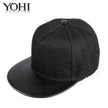 Новая простая и стильная бейсболка, светильник, сетка, хип-хоп, уличная мода, плоская шляпа для мужчин и женщин(Китай)
