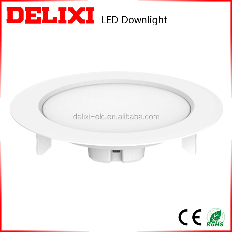 Easy installation low power consumption plastic led downlight