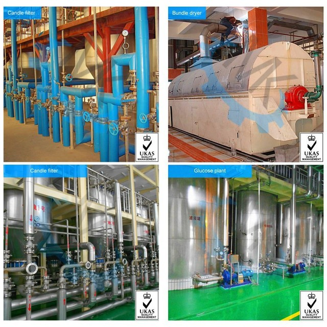 ISO&CE MK Broken Rice Glucose Syrup Production Line/Equipment/Plant