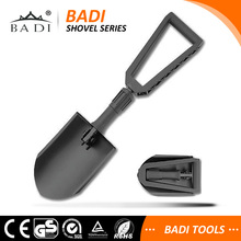 High Carbon Steel nylon handle Black Powdered Coat Specialty camping Knives & Tools shovel Entrenching Tool