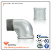 electric galvanized linning plastic elbow 90