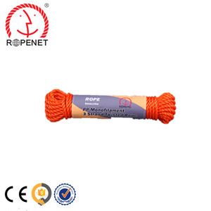 twisted rope 3mm fishing net twine manufacturer from Rope Net Vicky //M:8618253809206