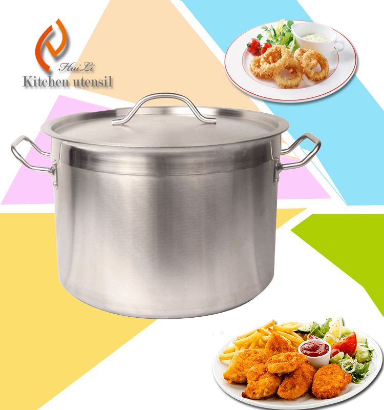 60L commercial kitchen steam pot with stainless steel 304 8000W 380V with multi-ply bottom
