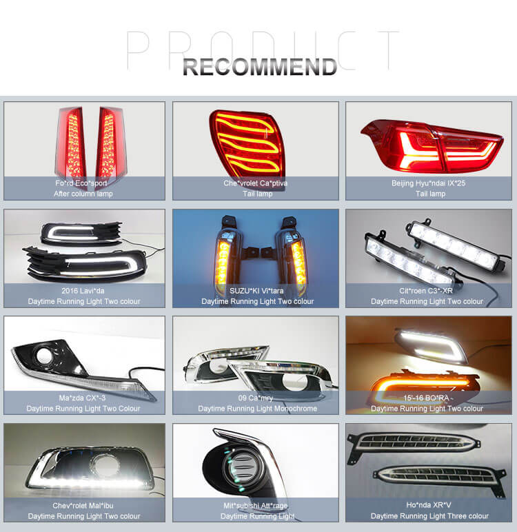 New Design New Product Rear Bumper Pillar Lamp for Nissan X-Trail