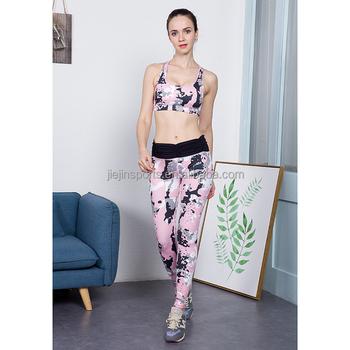 04ee83ee476 2018 sport exercise suit yoga gym wear women athletic clothing women  sportswear fitness set yoga bra+