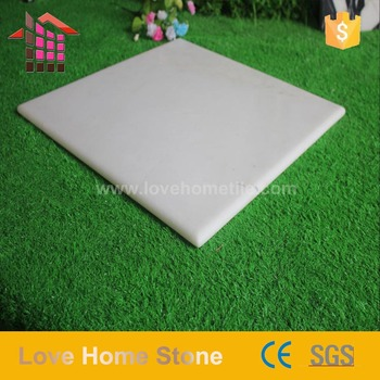 Wholesale Polished White Pearl Faux 12x12 Marble Floor Tile In India