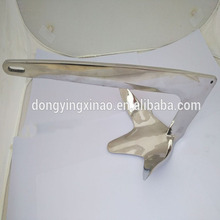 High quality Stainless Steel Mirror Polishing Boat Bruce Anchor 2kg