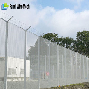 Fence panel:2 2mx4 5m opening size:76 2x12 7mm wire dia:4 0mm SECURITY  FENCING HEAVY DUTY(for The United Arab Emirates market)