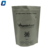 Food grade plastic stand up pouch met zip lock
