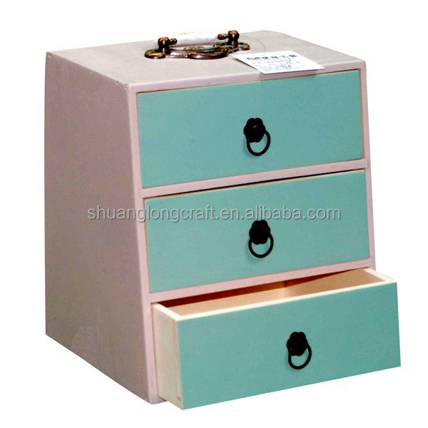 Solid Wood Small Chest With Drawers Wooden Cabinet Storage