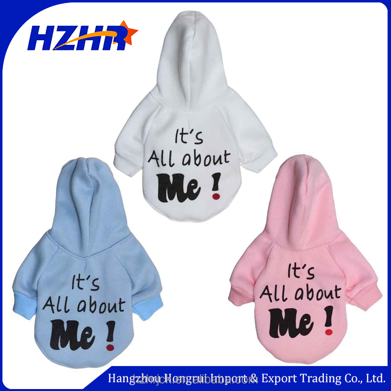 2017 new warm winter dog clothes, polar fleece dog hoodie