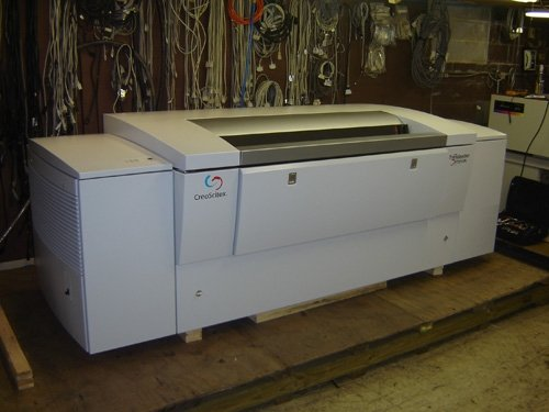 Creo Trend setter 3244vf Spectrum Printing Machinery