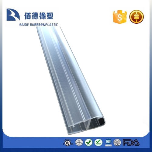magnetic profile for shower door seal