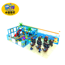 Malls used children park indoor soft playground equipment for sale