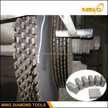 Multi-Blade Tools Circular Saw Diamond Segment Used On Multi Blade Saw Machine