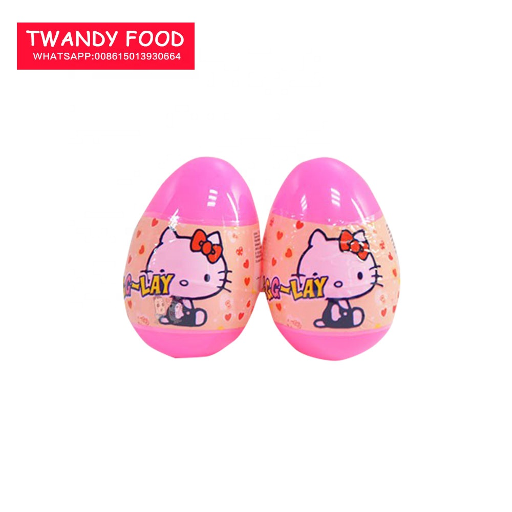 Surprise T-EGG-LAY Cartoon Toy Candy