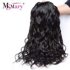 6A unprocessed raw indian virgin hair natural wave hair permanent wave