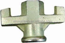 Ductile cast iron wing nut,formwork accessories galvanized wing nut