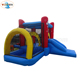 Small Colorful inflatable bouncer and slide combo kids jumping castles