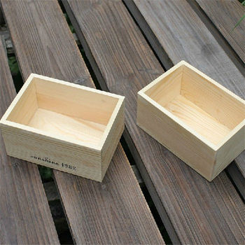 Wood Box Without Lid Lightweight Wood Box Wood Gift Boxes - Buy ...