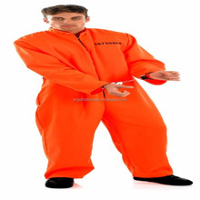 DEWASA MENS TAHANAN KOSTUM ORANGE BP2056 HUKUMAN mati FANCY DRESS HALLOWEEN OUTFIT BARU