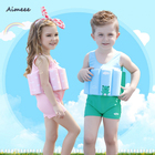 Baby And Toddlers Kids Learn To Swim Buoyancy Bathing Suit Float Suit Children Swimwear LifeJacket