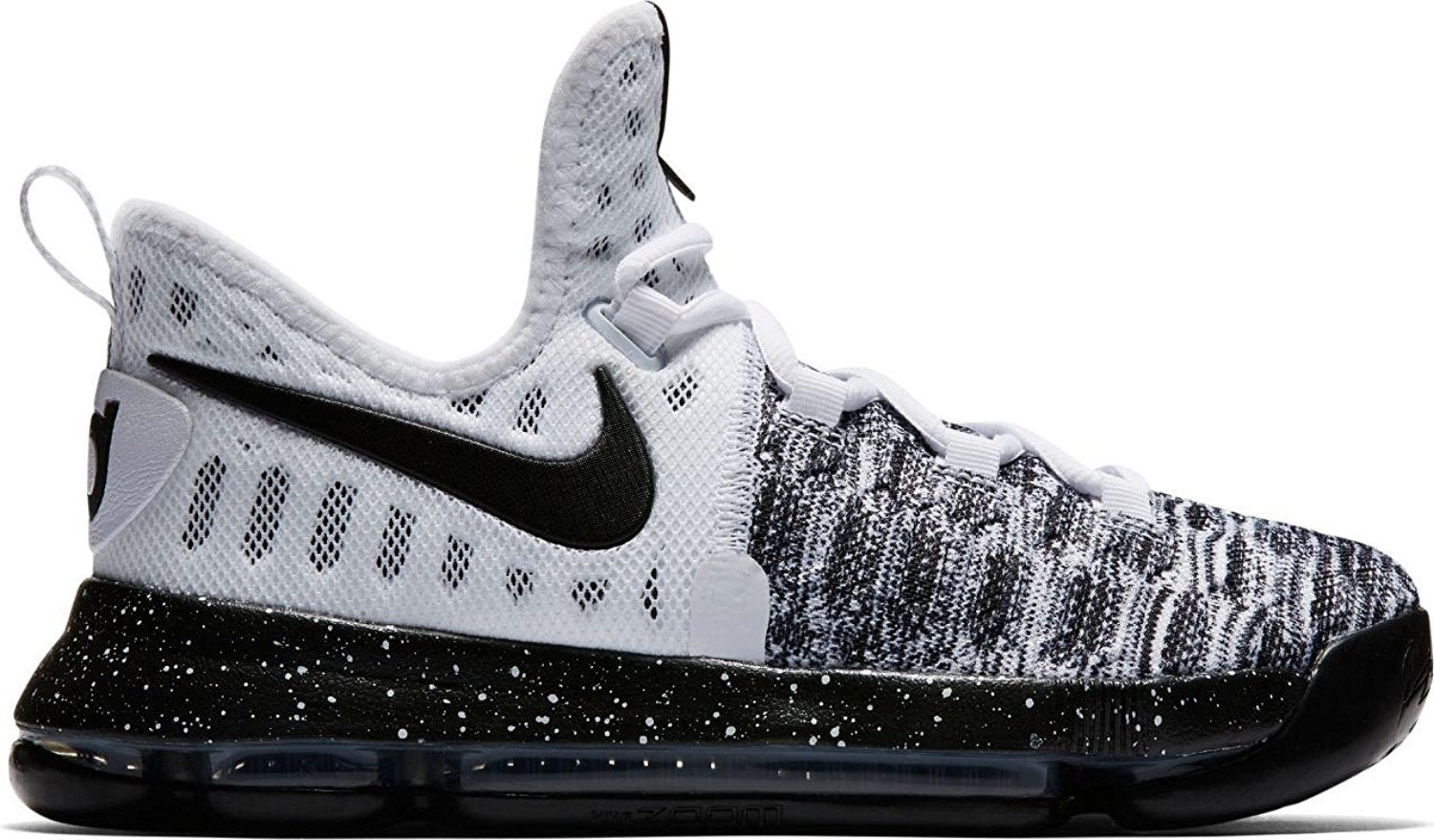e884f9d92bed Get Quotations · NIKE Kid s KD9 (GS) Basketball Shoe