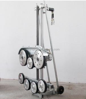 Cnc Hydraulic Diamond Wire Saw Concrete Cutting Machine - Buy ...