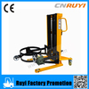 Manual hydraulic drum transporter lifter/stacker