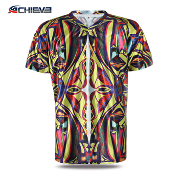 New design sublimation sports teeshirt sublimated t-shirt