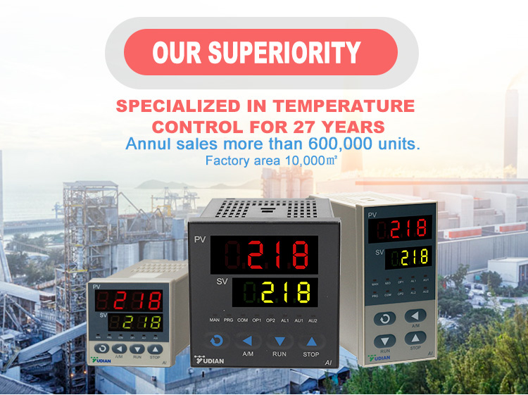 Industrial PT100 Digital Pid temperature process controllers from China supplier