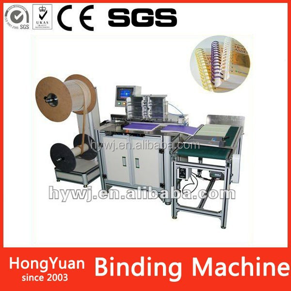 DWC-520A Packaging & Printing Paper & Paperboard double loop wire binding machine