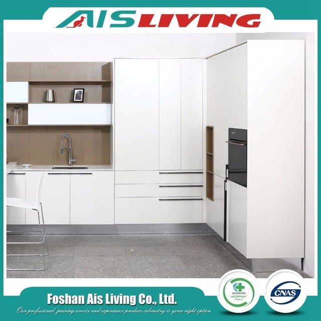 High Quality Stoving Varnish European Kitchen Cabinet Supplier From Foshan  (AISKI 100)