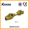 sliding drive shaft weld yoke for brush cutter