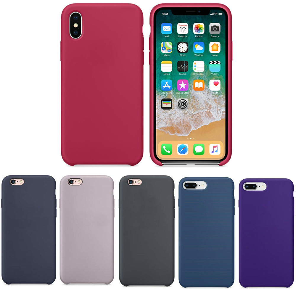 release date: 69f6b 8ff93 Cooshu Original Official Silicone Case For Apple Iphone X 8 Plus Phone Oem  Logo 7 6 6s Plus - Buy For Iphone X Case,For Iphone 8 Case,For Iphone 7 ...