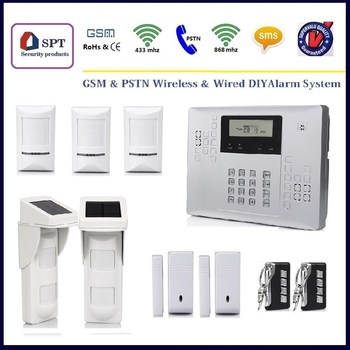 CP 21A Wireless Gsm Alarm System Sim Card, House Security Systems