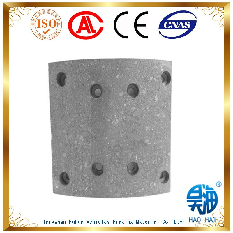 supplying auto spare parts WVA19486 brake lining in good quality